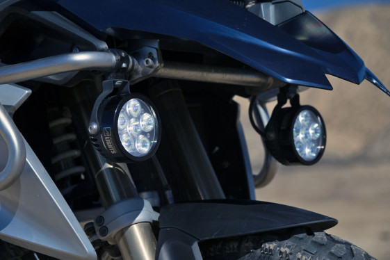 BMW R1200GS Clearwater Erica LED Auxiliary Lights