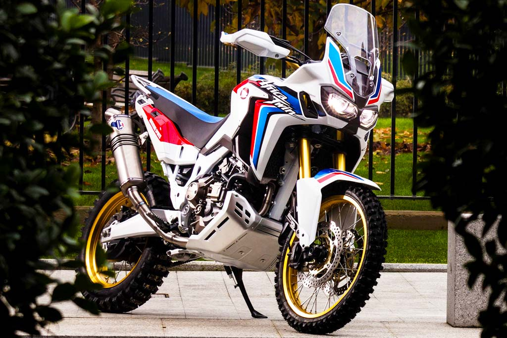 Africa twin low seat option