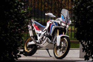 Africa Twin Adventure Sports Concept front view