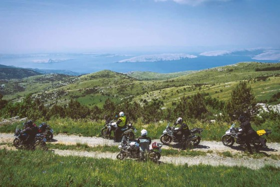 motorcycle tours europe - off-road in the balkans