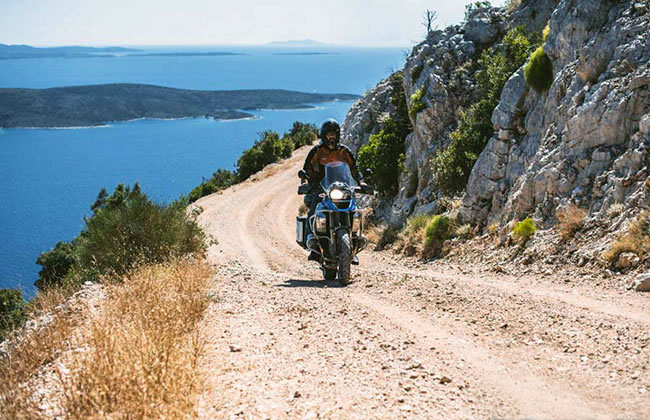 European Motorcycle Tours Off-Road in Croatia