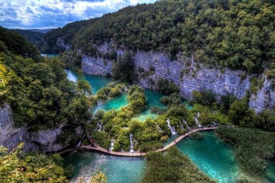 European Motorcycle Tours Plitvice Lakes