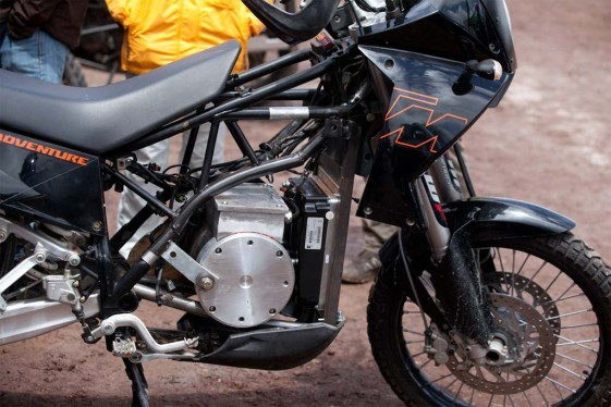 Expedition Electric KTM 950 Adventure