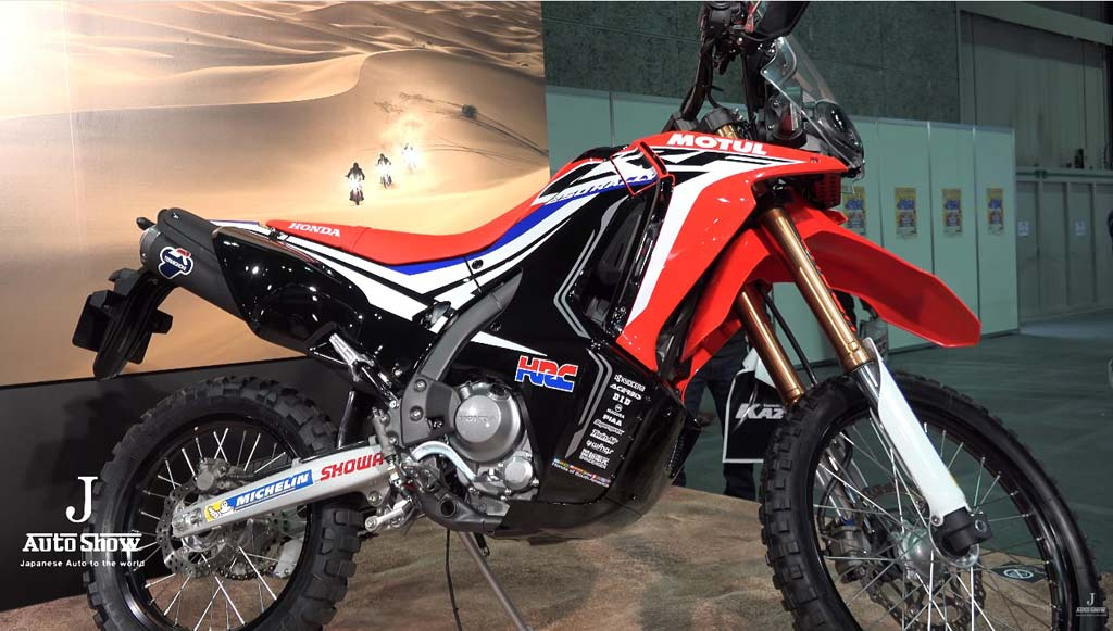 honda crf250 rally now just one step away from production. Black Bedroom Furniture Sets. Home Design Ideas
