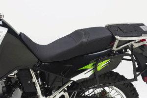 lower your motorcycle with a lower seat
