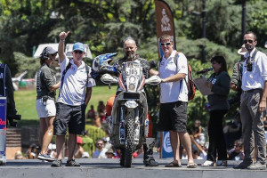 Scott Bright Raiden ADV Gear tester and Dakar finisher