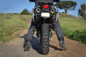 Lowering a motorcycle