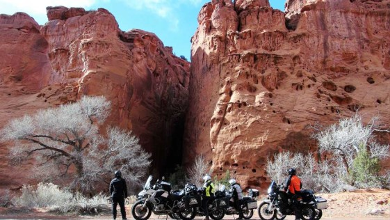 Burr Trail Road - Motorcycle Rides in Utah