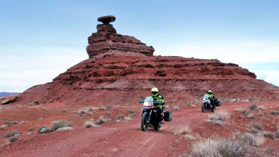 Mexican Hat - Motorcycle Rides in Utah