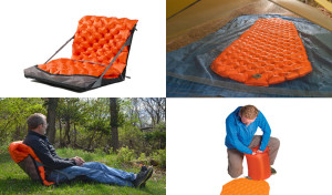 Sea to Summit Ultralight Camp Chair and insulated sleeping mat