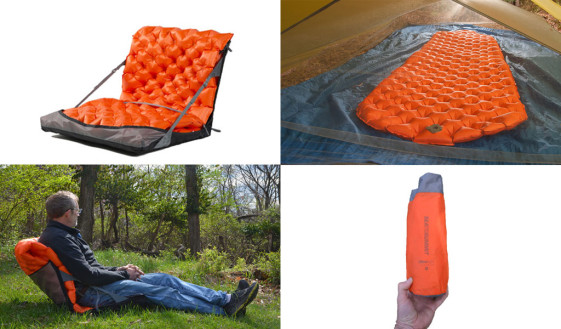 Sea To Summit Ultralight Camp Chair Mattress Combo Review