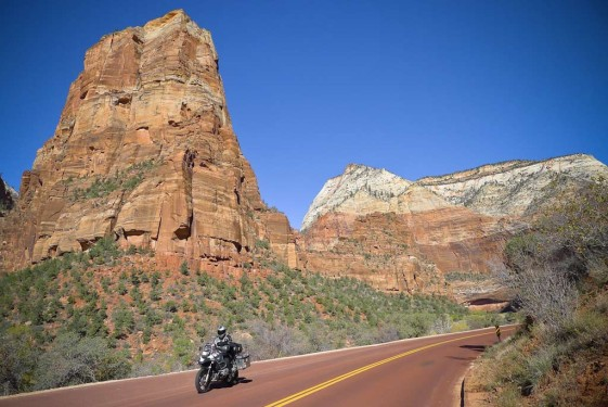 Zion National Park Motorcycle Rides in Utah