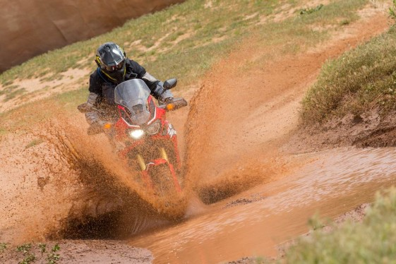 Honda Africa Twin Test