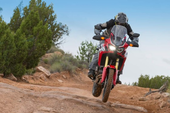 Africa Twin Test