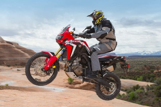 honda africa twin test speed run