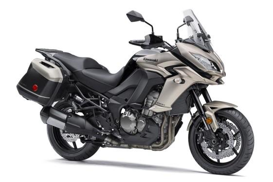 Kawasaki Versys 1000 heavy adventure bikes