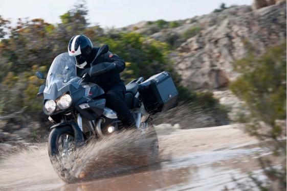 Moto Guzzi Stelvio 1200 NTX - heavy adventure bikes