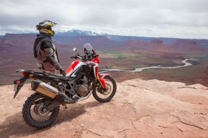 honda africa twin review test