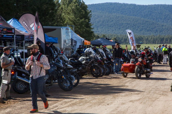 Adventure Travelers from all over the world come to the Overland Expo.
