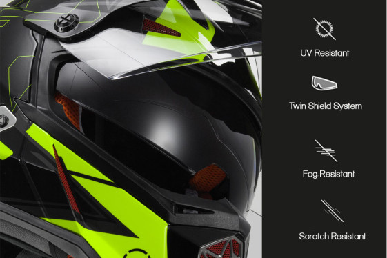 LS2 Pioneer MX436 Adventure Helmet