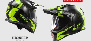 LS2's new fully-ventilated dual sport helmet with drop-down sun visor starts at just $129 for solid colors and $139 for graphics.