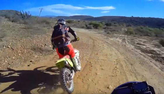 Lyndon Poskitt Blazin Through Baja