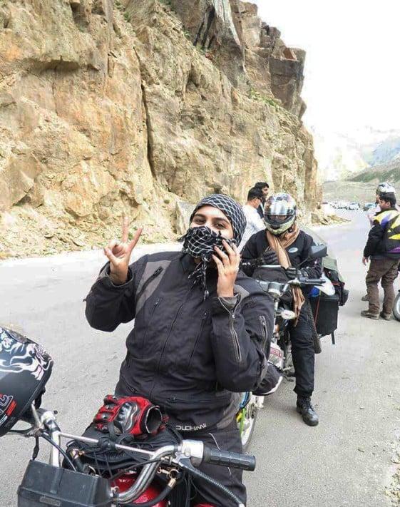 Zenith Irfan Riding Solo Across Pakistan