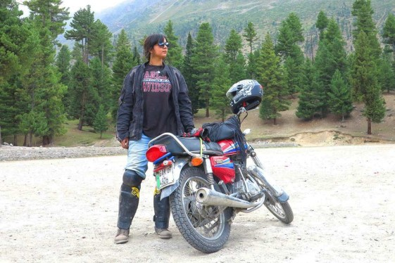 Zenith Irfan Riding Solo Across Pakistan