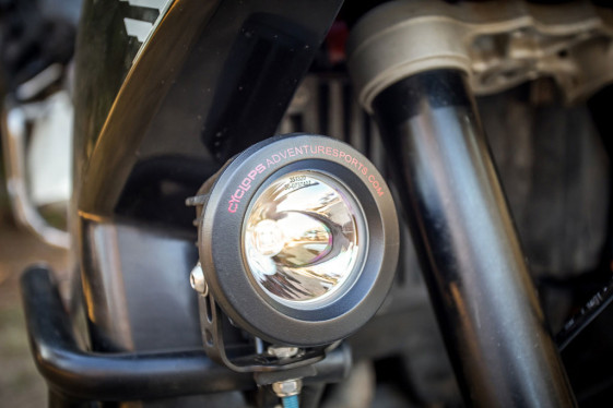 Cyclops long range motorcycle driving lights