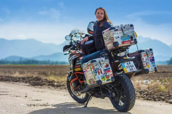 Anna Grechishkina - women adventure riders