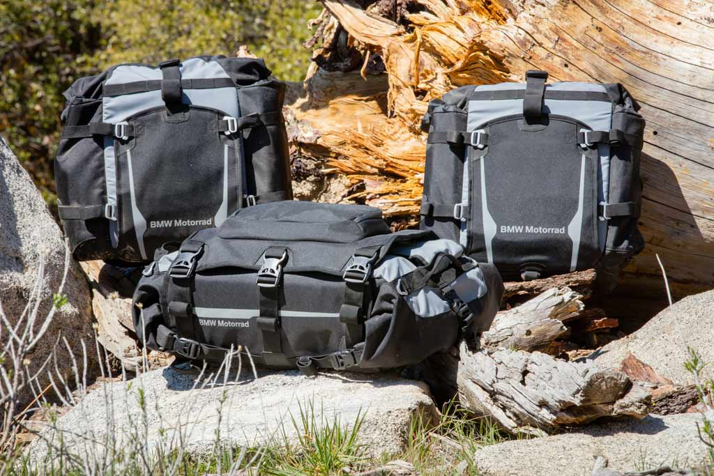 BMW Announces New Off-Road Soft Luggage System