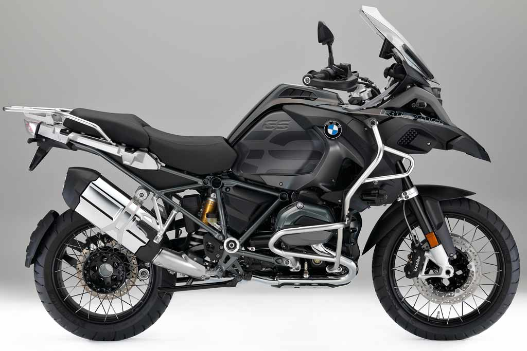 new 2017 bmw r1200gs adventure triple black special. Black Bedroom Furniture Sets. Home Design Ideas