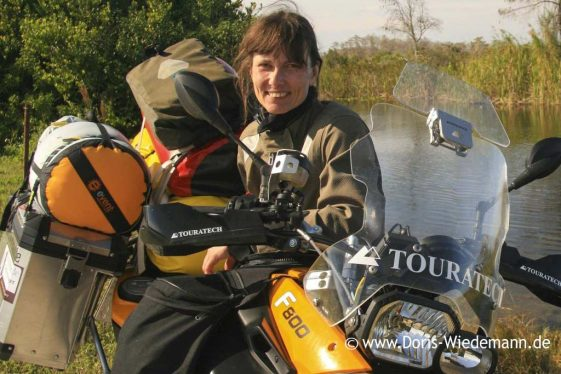 Doris Wiedemann - women adventure riders