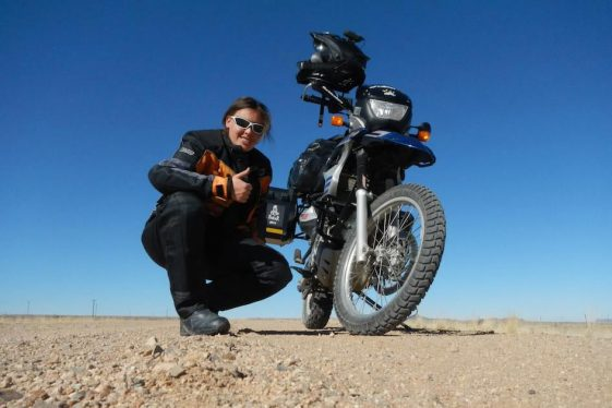 Jolandie Rust - women adventure riders