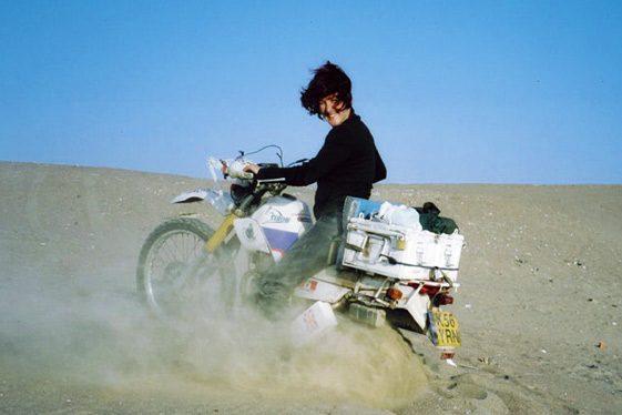 Lois Pryce - mujeres aventureras