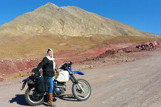 Lois Pryce - women adventure riders