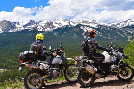 High Rockies Adventure Motorcycle Rides in Colorado