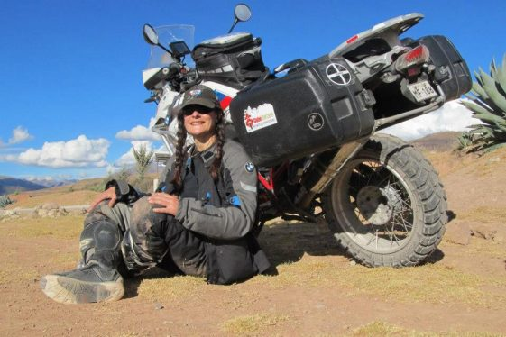 Tiffany Coates - women adventure riders