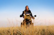 Woman Motorcyclist Tiffany Coates