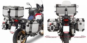 GIVI Africa Twin Accessories - Outback Trekker racks