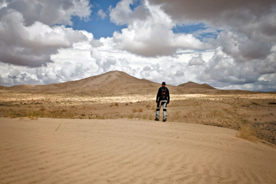 Kelso Dunes in the Mojave National Preserve