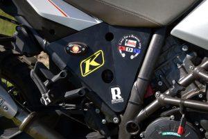 KTM 1290 Super Adventure heat deflector shield