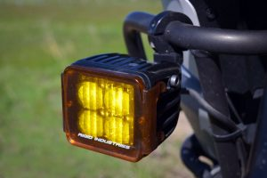 KTM 1290 Super Adventure - Rigid Industries DOT Dually LED Aux Lights