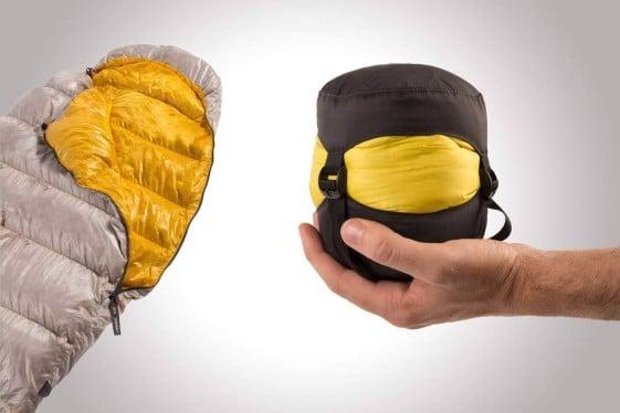 lightweight sleeping bag sea to summit