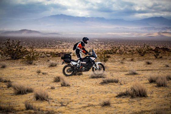 Riding in the Mojave Preserve