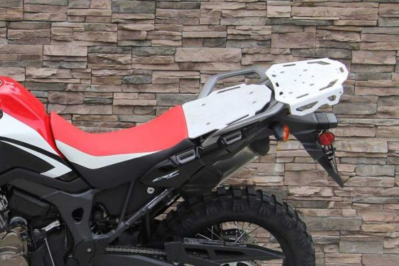 Altrider accessories for the Africa Twin - Pillion Rack
