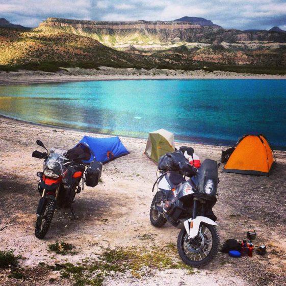 Baja Motorcycle rides - Punta Mechudo