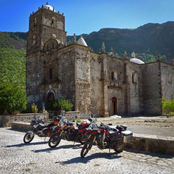 Baja motorcycle mission san javier