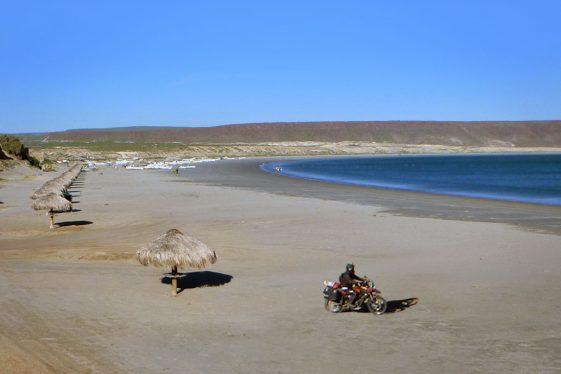 Baja Motorcycle San Juanico - Scorpion Bay