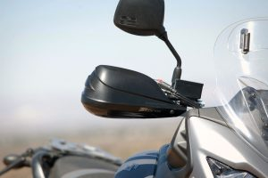 Barkbuster Storm hand guards for the V-Strom